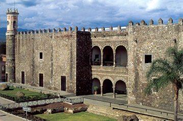 The Palace of Cortes is now a huge museum.